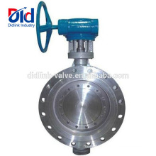 Split Actuated 4 Inch Italy 10 Lug Type Triple Offset Stainless Steel Butterfly Valve Supplier