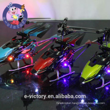 Black Spirit 3.5 Channel Mini Remote Control Co-Axial Metal RC Helicopter with Light
