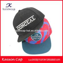 2015 OEM promotionnel personnalisé impression continent Afrique snapback chapeau