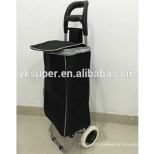 Customized shopping trolley bag with solid color