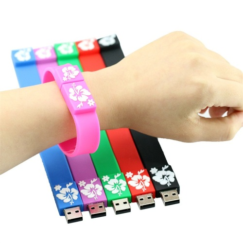 Silicone+Bracelet+Wrist+Band+Usb+Flash+Drive