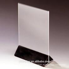 Klare Acryl Menü Display Halter