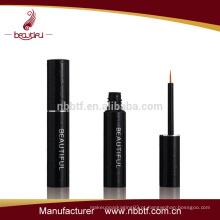 Mais novo design garrafa de eyeliner de alta qualidade com tampa de escova de alumínio