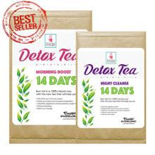 Chá de desintoxicação erval orgânico Chá de emagrecimento chá de perda de peso (programa de 14 dias)