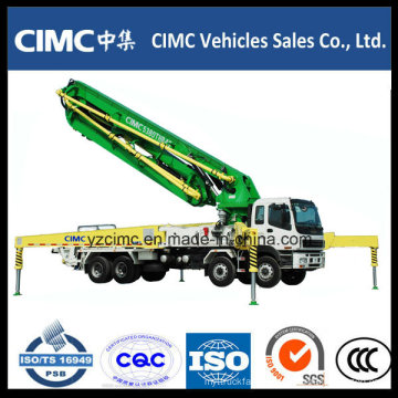 High Quality Isuzu 8X4 Concrete Pump Truck 48 Meter