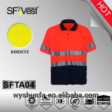 Vêtements de travail de sécurité vêtements de haute veauté vêtements de haute visibilité vêtements de travail de sécurité