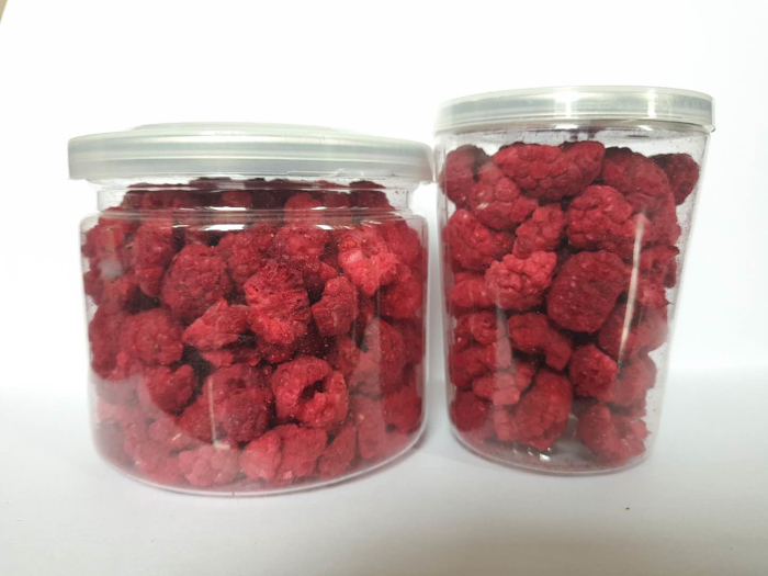 freeze dried respberry