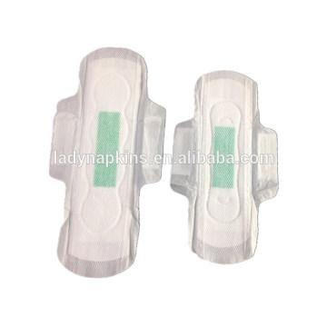 Servilleta sanitaria aniónica disponible al por mayor del anión para el uso de señora