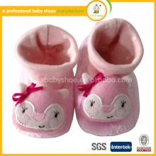 2015 mode animal pattern enfant chaussures bébé moccasions hiver
