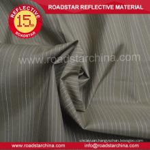 Chambray reflective shirt polyester fabric