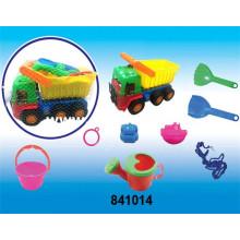 Crianças educacionais de plástico modelo diy brinquedos de praia (841014)