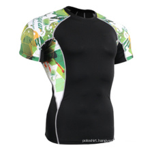 Custom Made Sublimation Printing Fitted Sports T-Shirt