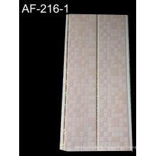 Hölzerne Farbe PVC-Decken-Verkleidung