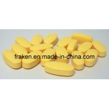 GMP Certifié 100mg, 500mg, 1000mg Vitamine C Tablet
