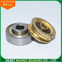 Brass Plating U Groove Pulley Wheel Bearing