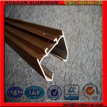 Profils en aluminium pour porte coulissante