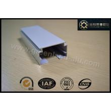 Gl2001 Aluminium-Fenstervorhang-Kopfschiene und Kippstange für vertikale Blindpulverbeschichtung Weiß