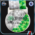 Factory supply epoxy V neck ribbon football medal
