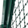 Stainless steel barbed wire and razor wire