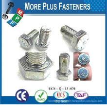 Made in Taiwan Oval Slot Head Hex Washer Head Hex Phil Washer Head Machine Screw Bolt