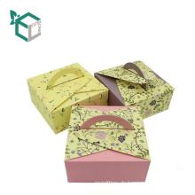 fördernde Hochzeitsliebes-Nachtischpapierkuchen-Kastengeschenke zurückführbarer Kuchen backen Kasten