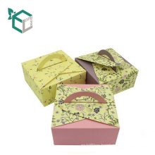promotional wedding love dessert paper cake box gifts recyclable cake bake box