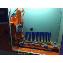 Máquina de tufting de cepillo industrial larga de 2 ejes