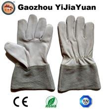 Кевларовая кошачья кожаные рабочие рукавицы TIG с коровами с разделенной кожей