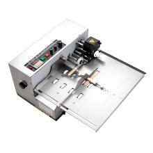 Impressora de código de data de rolo de tinta quente preto de data de papel de caixa