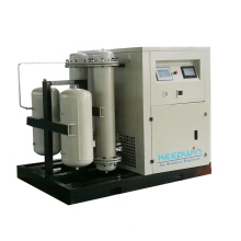 5HP 3.7KW 100% pure gas Oil Free Scroll Air Compressor for Medical Hospital PSA Oxygen Gas System using