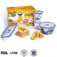 venda quente de plástico brindes promocionais conjunto houseware