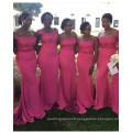 2017 Wholesale Lace Top Mermaid Evening Wedding Bridesmaid Dresses