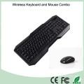 El teclado inalámbrico más vendido y el ratón conjunto combinado