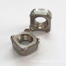 Custom metal Square Hexagon thin nuts