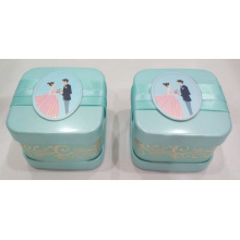 Bule Wedding Candy Tin Can
