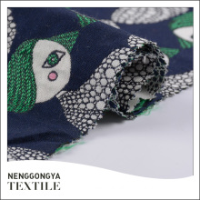 China Designer soft jacquard fabric 50% cotton 50% polyester