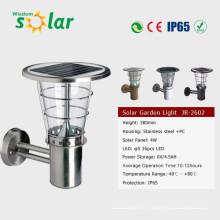 LED-solaire CE beau design extérieur mur solaire lampe JR-2602-B
