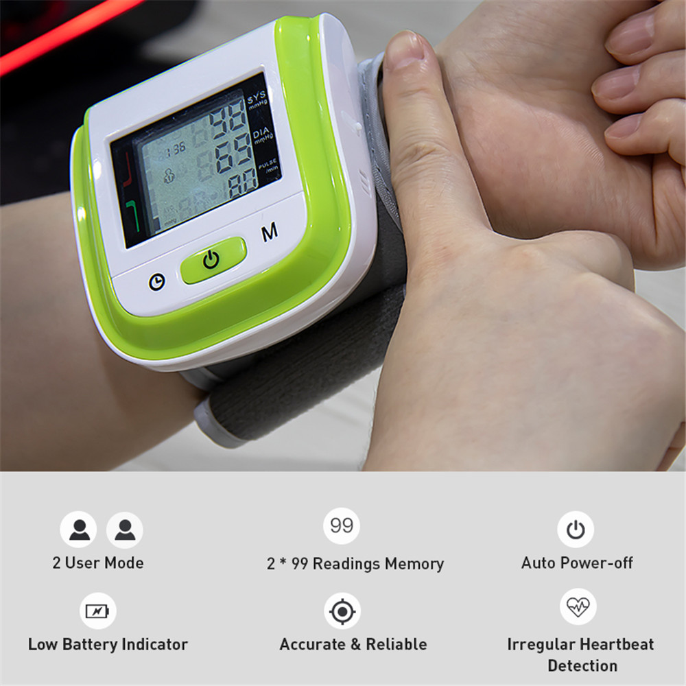 Blood Pressure Monitor For Wrist
