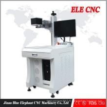 machine portative de marquage de laser de fibre de mini, machine de marquage de laser de fibre de bureau avec du CE