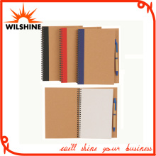 Recycled Paper A5 Note Book with Pen for Promotion (SNB106)