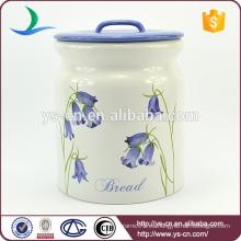YSca0050-01-3 big cannister azul conjuntos para el almacenamiento de pan