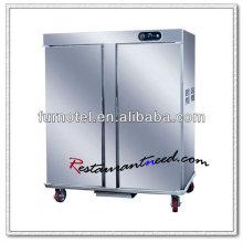 K112 2 Doors Stainless Steel Electric Food Warmer Cabinet