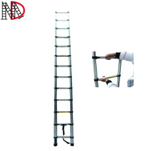 3.2 meter Aluminium extension telescopic step ladders with EN131