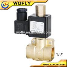 Alta pressão 1/2 válvula solenóide de água 220v ac