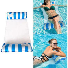 Wholesale 4-in-1 monterey hammock inflatable pool float Chair Summer Pool Inflatable Floating Bed for kids adult