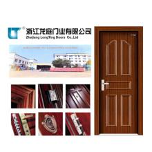 Porte en bois intérieure en acier (LTG-115)