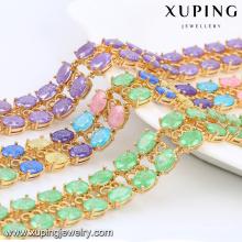 74467 Xuping Trendy En stock Bracelet de bijoux en pierre de cristal