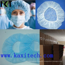 Disposable Bouffant Mob Cap Stock Supplier Medical Supply Kxt-Bc03
