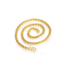 New Arrival Copper 18k Gold Plating Rope Chain Necklace