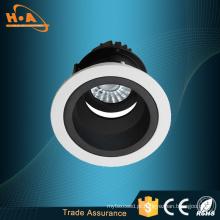 O ângulo ajustável rosqueou luzes Anti-Fraying do diodo emissor de luz da luz da arruela da parede